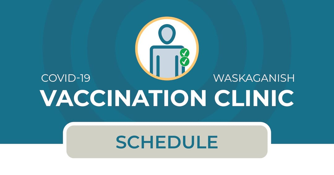 Vaccination clinic in Waskaganish (2nd dose)