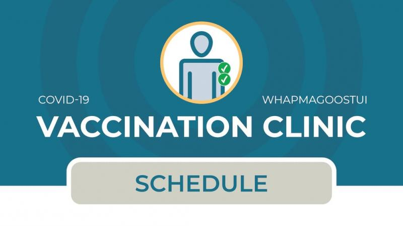 Vaccination clinic in Whapmagoostui (2nd dose)