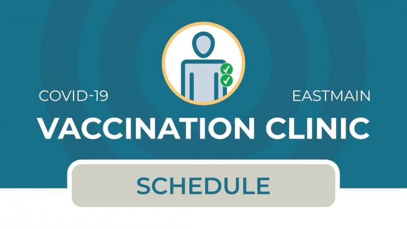 Vaccination clinic in Eastmain (2nd dose)