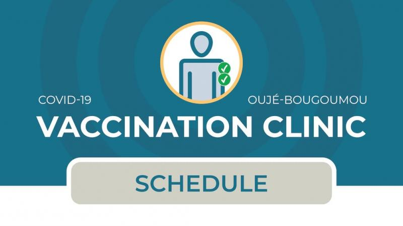 Vaccination clinic in Oujé-Bougoumou (2nd dose)