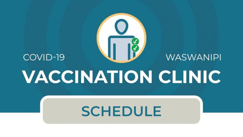Vaccination clinic in Waswanipi (2nd dose)