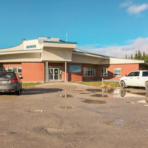 Front entrance to Waskaganish CMC